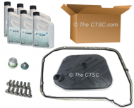 Oil change kit for Audi 8HP55 A