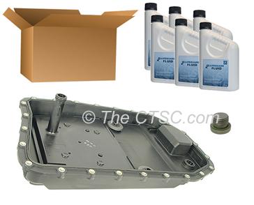 BMW 6 speed oil change kits: Genuine ZF Parts