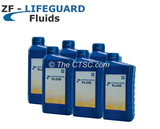 Transmission Fluid ZF LifeGuard 5 - Case of 6 x 1L Container